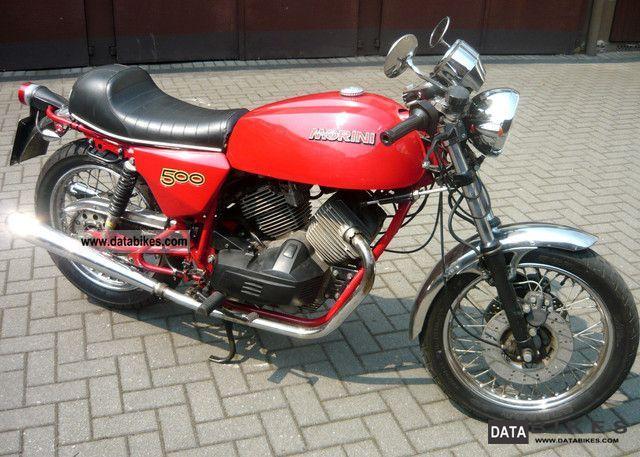 1988 Moto Morini  500 Motorcycle Motorcycle photo