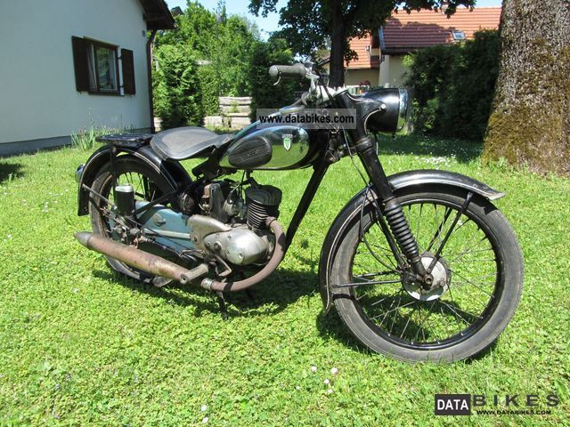 DKW  RT 125 1951 Vintage, Classic and Old Bikes photo