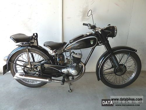 DKW  RT 125/2 1953 Vintage, Classic and Old Bikes photo