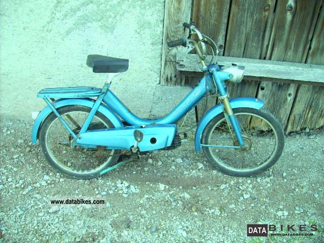 1970 DKW  Moped Type 502 1970 BJ Motorcycle Motor-assisted Bicycle/Small Moped photo