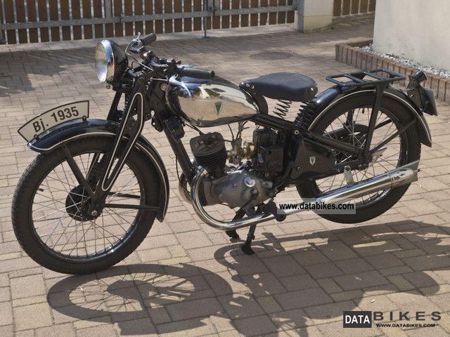 1935 DKW  KM 200 luxury Motorcycle Motorcycle photo