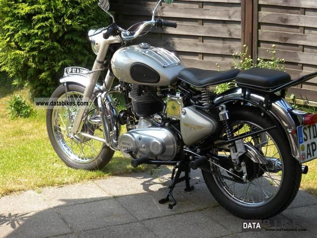 1991 Royal Enfield  Bullet 500 Motorcycle Chopper/Cruiser photo