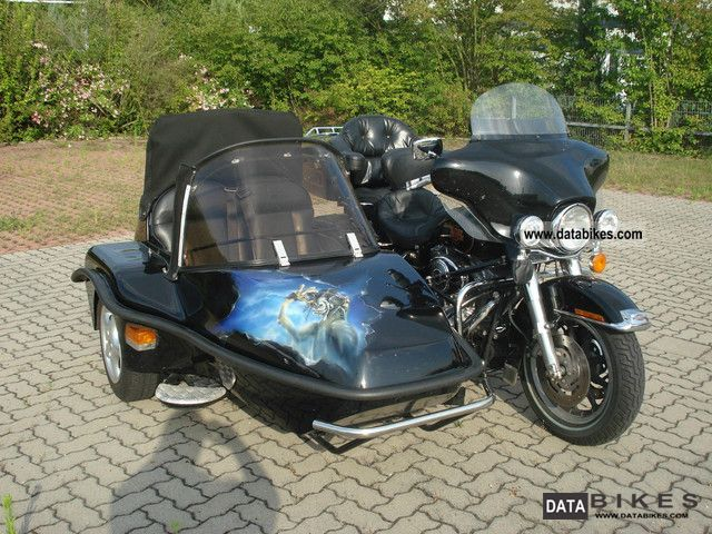 Harley Davidson  E-Glide carriage 2002 Combination/Sidecar photo