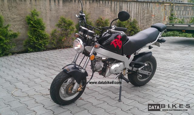 2005 skyteam moped scooter moped 50 pbr honda dax replica. Black Bedroom Furniture Sets. Home Design Ideas