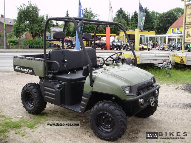 Polaris  Ranger 700 XP EFI 4x4 LOF street legal 2008 Quad photo