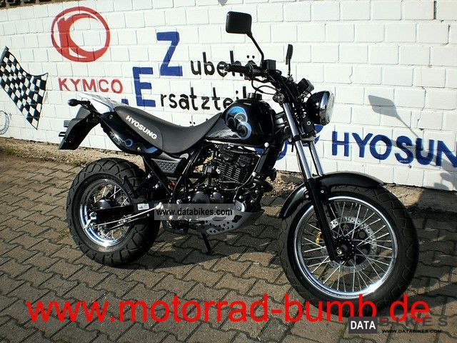 2011 Hyosung  RT 125 D Karion Motorcycle Lightweight Motorcycle/Motorbike photo