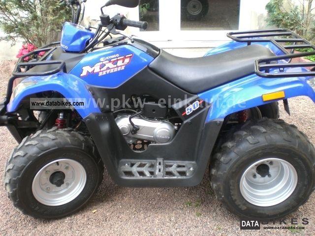 2007 Kymco  MANY NEW PARTS ONLY 788Km MXU 50 Motorcycle Quad photo