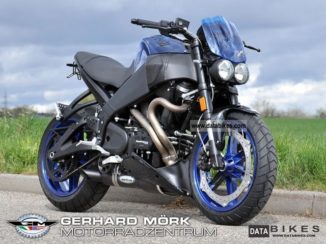 2009 Buell  XB9SX Blue Lightning GM Special Motorcycle Streetfighter photo