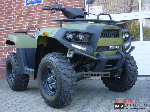 2012 Cectek  Gladiator 500 EFI four-wheel Motorcycle Quad photo