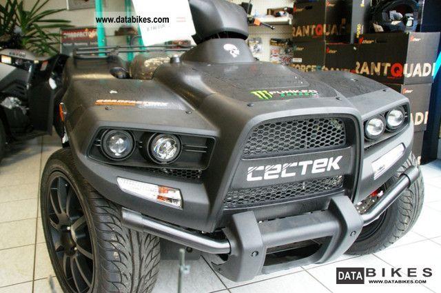 2012 Cectek  Quadrift-wide black-including strong LOF / low Motorcycle Quad photo