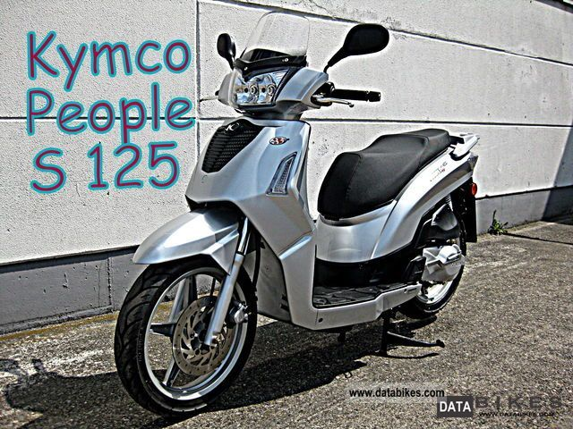 Kymco  People 125S 2009 Scooter photo