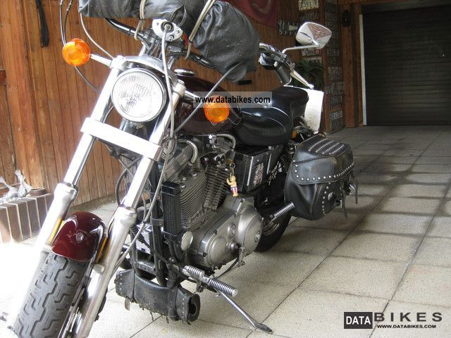 1987 Harley Davidson  Sportster XLH883 Motorcycle Chopper/Cruiser photo