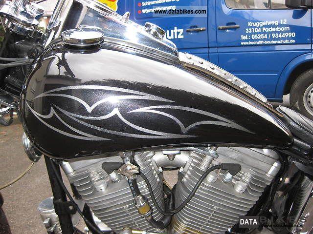 1984 Harley Davidson  FXWG Motorcycle Chopper/Cruiser photo