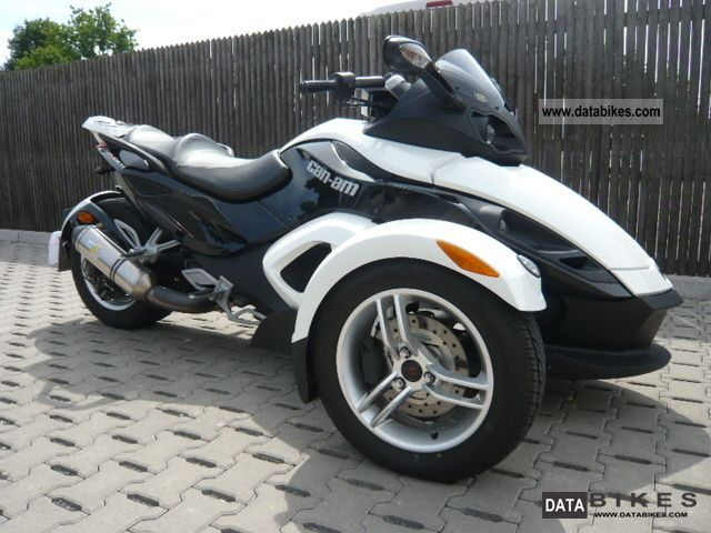 2009 Can Am  Automatic RS Spider Motorcycle Trike photo