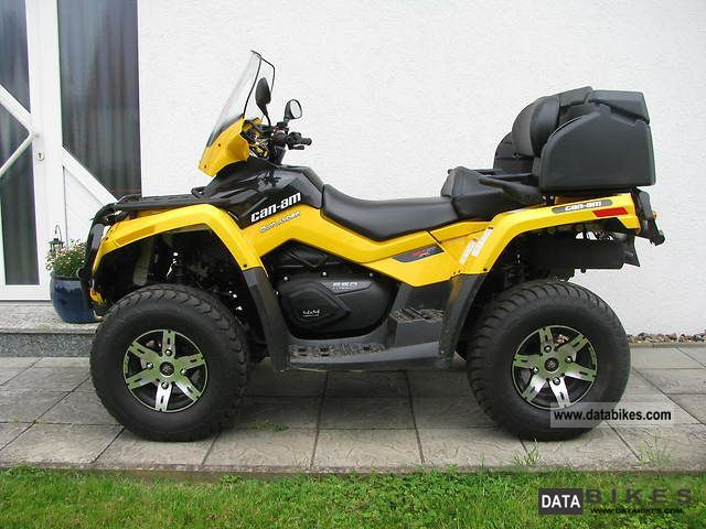 2011 Can Am  Outlander 650 Max XT Motorcycle Quad photo