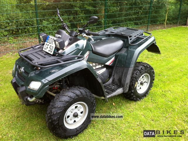 2009 Can Am  Outlander 800 Motorcycle Quad photo