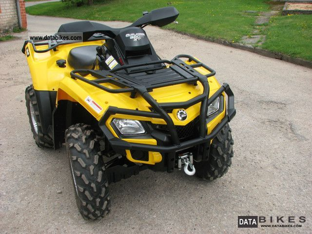 2011 Can Am  800 OutlanderXT Motorcycle Quad photo