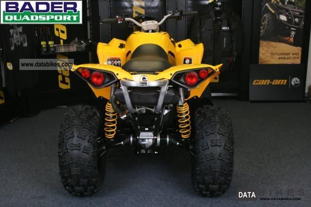 2012 Can Am Renegade 800 R Model 2012