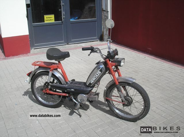 Herkules  M 4 moped ----\u003e Fahrbereit 1976 Vintage, Classic and Old Bikes photo
