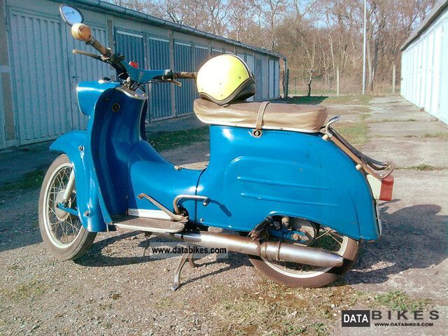 1967 Simson  Schwalbe KR51 Motorcycle Motor-assisted Bicycle/Small Moped photo