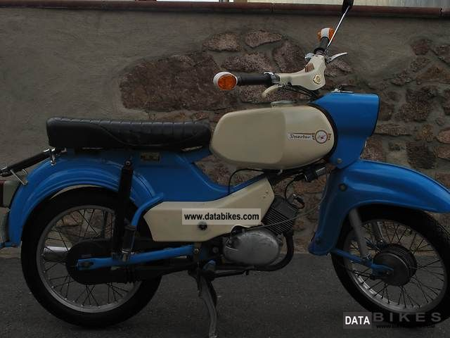 Simson  SR 3/4 1969 Vintage, Classic and Old Bikes photo