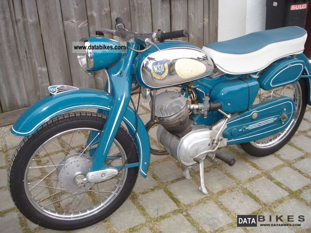 NSU  Superfox 1956 Vintage, Classic and Old Bikes photo