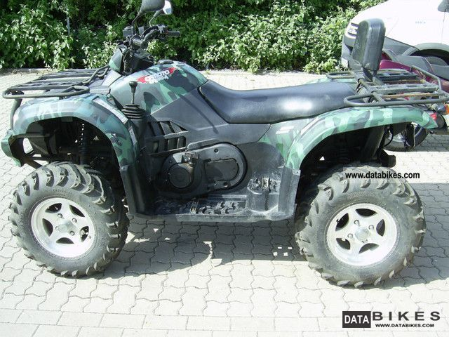 2009 CFMOTO  Atlas Explorer 500 LOF approval Motorcycle Quad photo