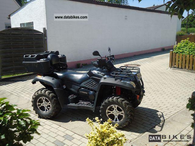 2012 CFMOTO  Cf moto 625 Grison X6 Terra Lander Goes ATV 4X4 Motorcycle Quad photo