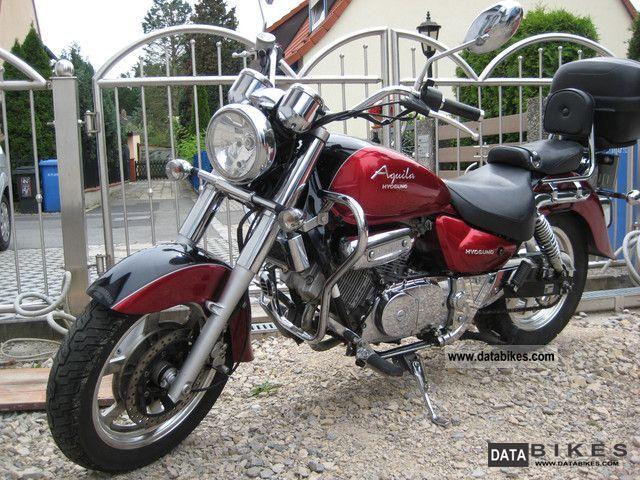 2007 Hyosung  GV 125 AQUILA Motorcycle Chopper/Cruiser photo