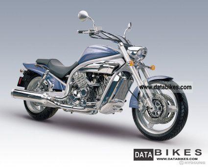 2007 Hyosung  650 Aquila Motorcycle Chopper/Cruiser photo