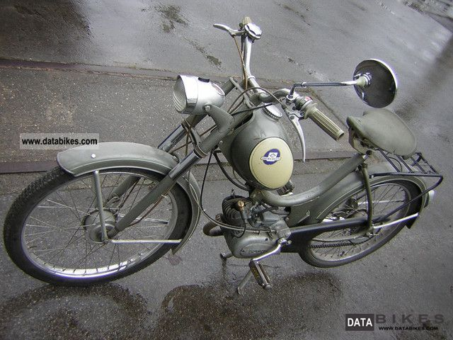Hercules  Saxonette moped scooter oldtimer 1965 Vintage, Classic and Old Bikes photo