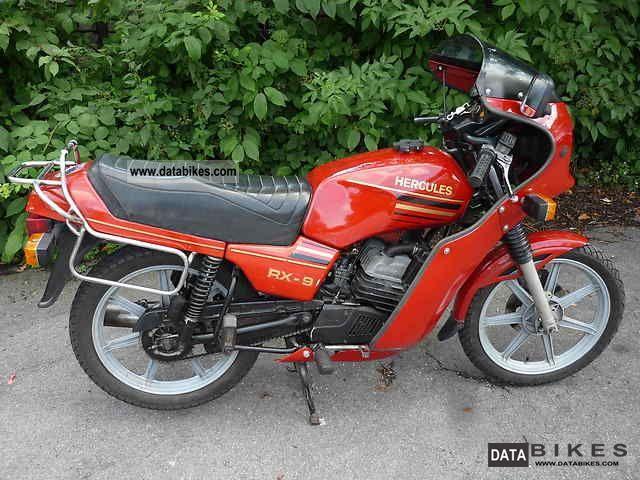 1984 Hercules  RX9 Motorcycle Lightweight Motorcycle/Motorbike photo