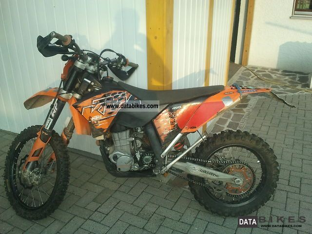 2007 KTM  450 EXC-R 08 model well maintained, many extras + Motorcycle Enduro/Touring Enduro photo