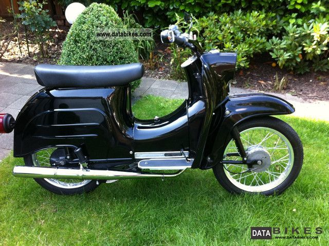 Simson  Schwalbe KR / 2 E 1974 Vintage, Classic and Old Bikes photo