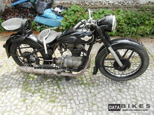 1957 Simson  AWO 425 T Motorcycle Motorcycle photo