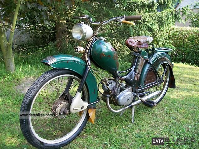 Simson  SR2 now ready to drive 1968 Vintage, Classic and Old Bikes photo