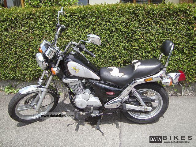 2006 Daelim  Custom VS 125 Advance Motorcycle Chopper/Cruiser photo