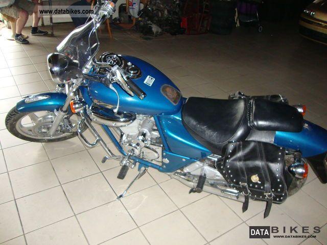 1998 Daelim  Rok Motorcycle Motorcycle photo