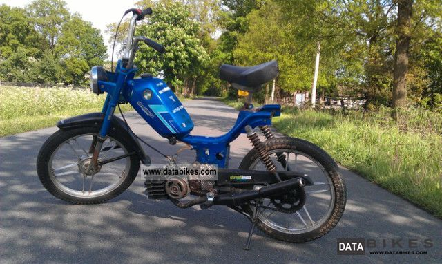 Puch Maxi Moped Racing