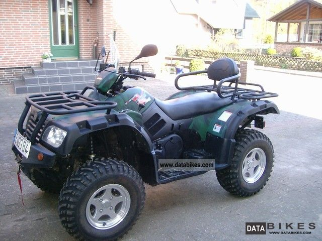 2011 Explorer  Quad 500 Everest 4x4 snow plow Motorcycle Quad photo