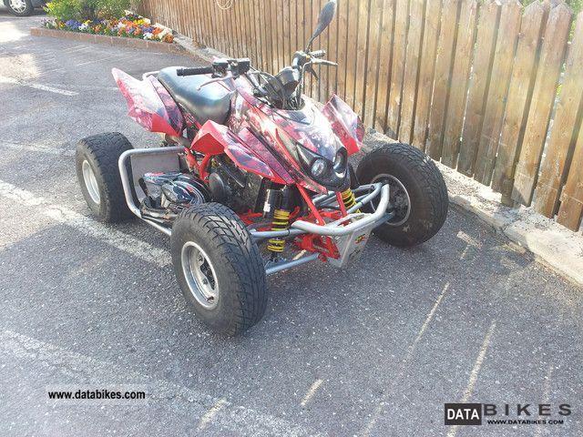 2009 Arctic Cat  DVX 400 Motorcycle Quad photo