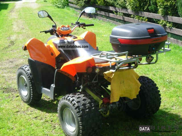 2010 Herkules  Adly ATV-280 A Hurricane Motorcycle Quad photo