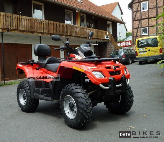 2007 Can Am  Outlander MAX 650 with LOF Motorcycle Quad photo