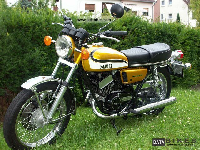 Yamaha  RD 350 1973 Vintage, Classic and Old Bikes photo