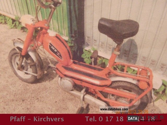 DKW  CB1 / 508 scooter 1975 Vintage, Classic and Old Bikes photo