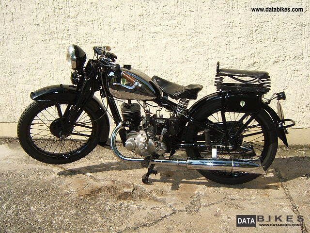DKW  Block 200 1933 Vintage, Classic and Old Bikes photo