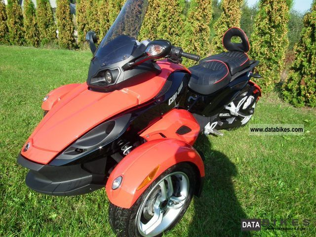 2009 Bombardier  CAN-AM SPYDER Motorcycle Motorcycle photo