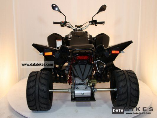 2012 Triton  450 Super Moto LoF Demonstration 10 km Motorcycle Quad photo