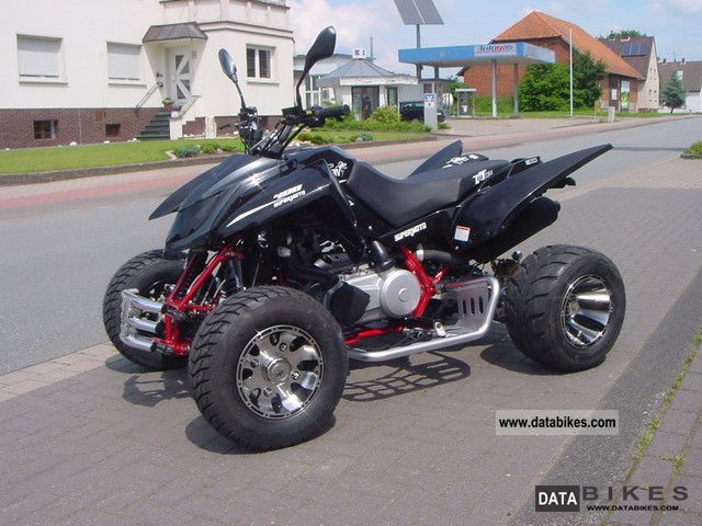 2012 Triton  400 Super Moto EFI with LOF from stock Motorcycle Quad photo