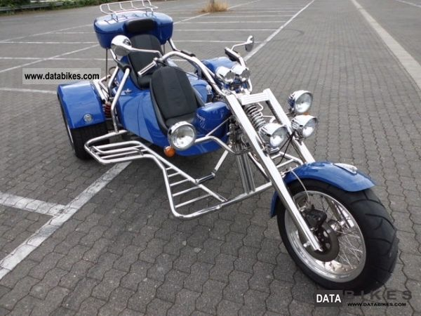 2007 Rewaco  FX 1/4 HS Chopper 1.6i Motorcycle Trike photo
